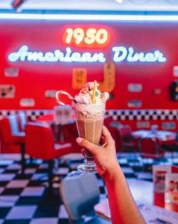 A tutto tondo agency progetti - 1950 American Diner