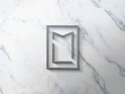 A tutto tondo agency - progetto - Lastri Marmi Logo